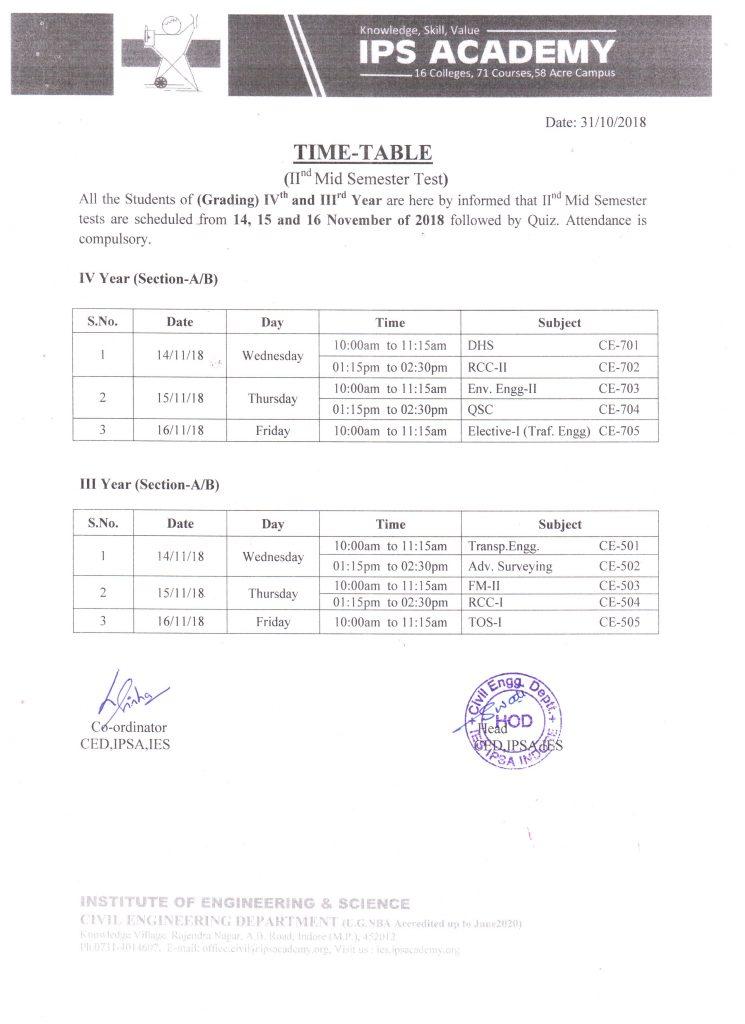 grading-test-time-table-nov-2018
