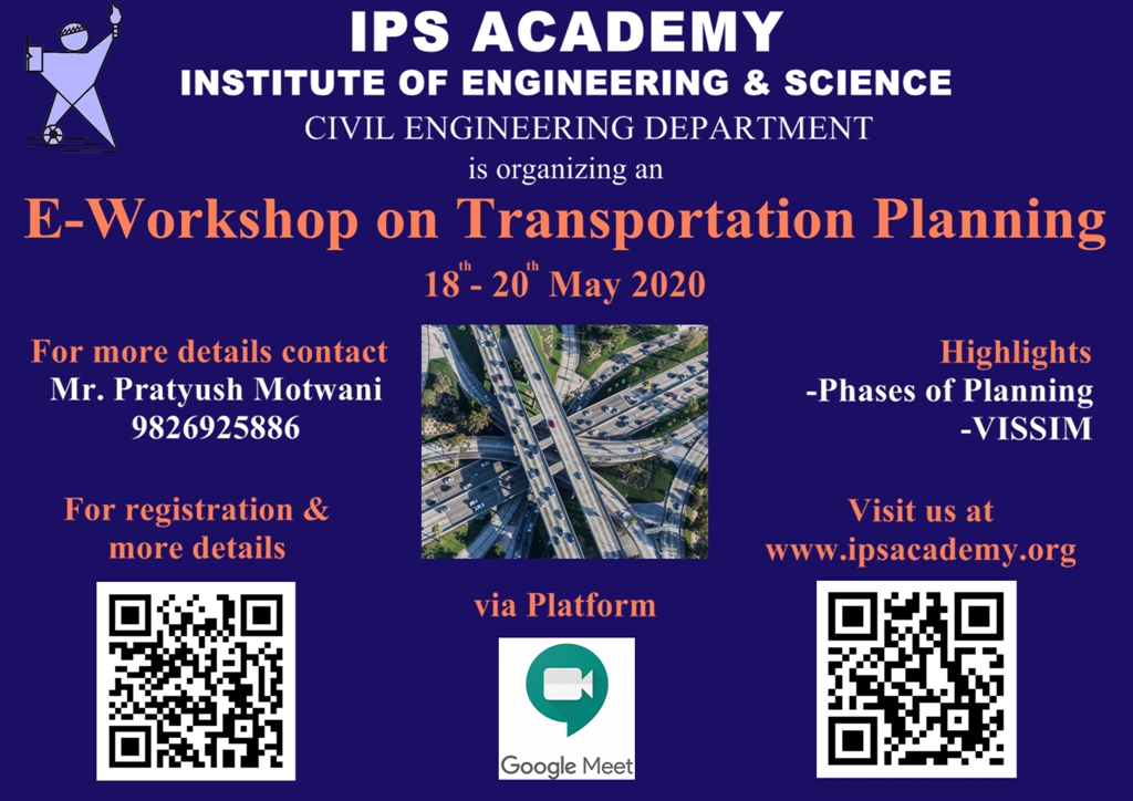 e-workshopn-on-transportation-planning