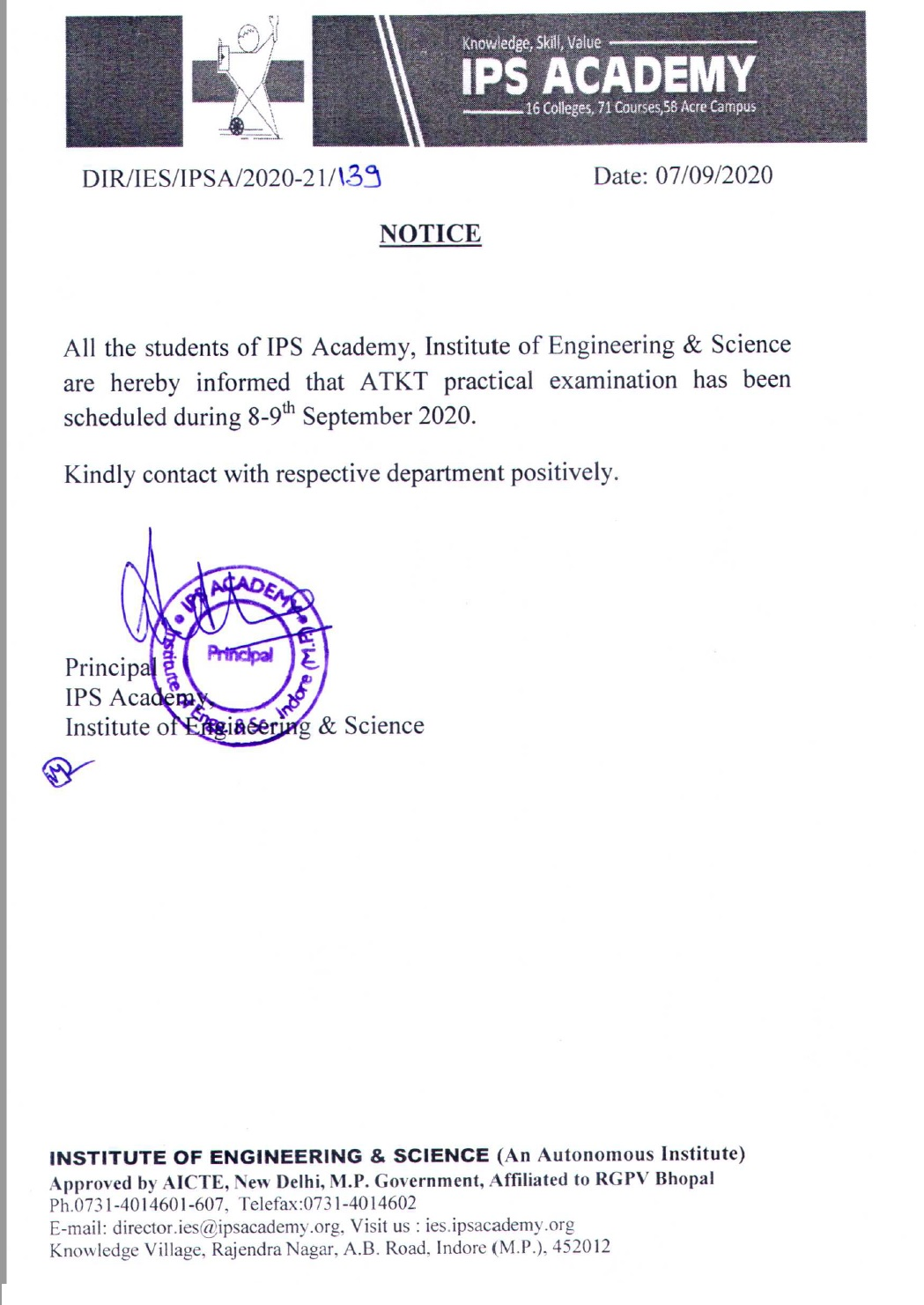 notice-for-atkt-students-practical-exam-sep-2020