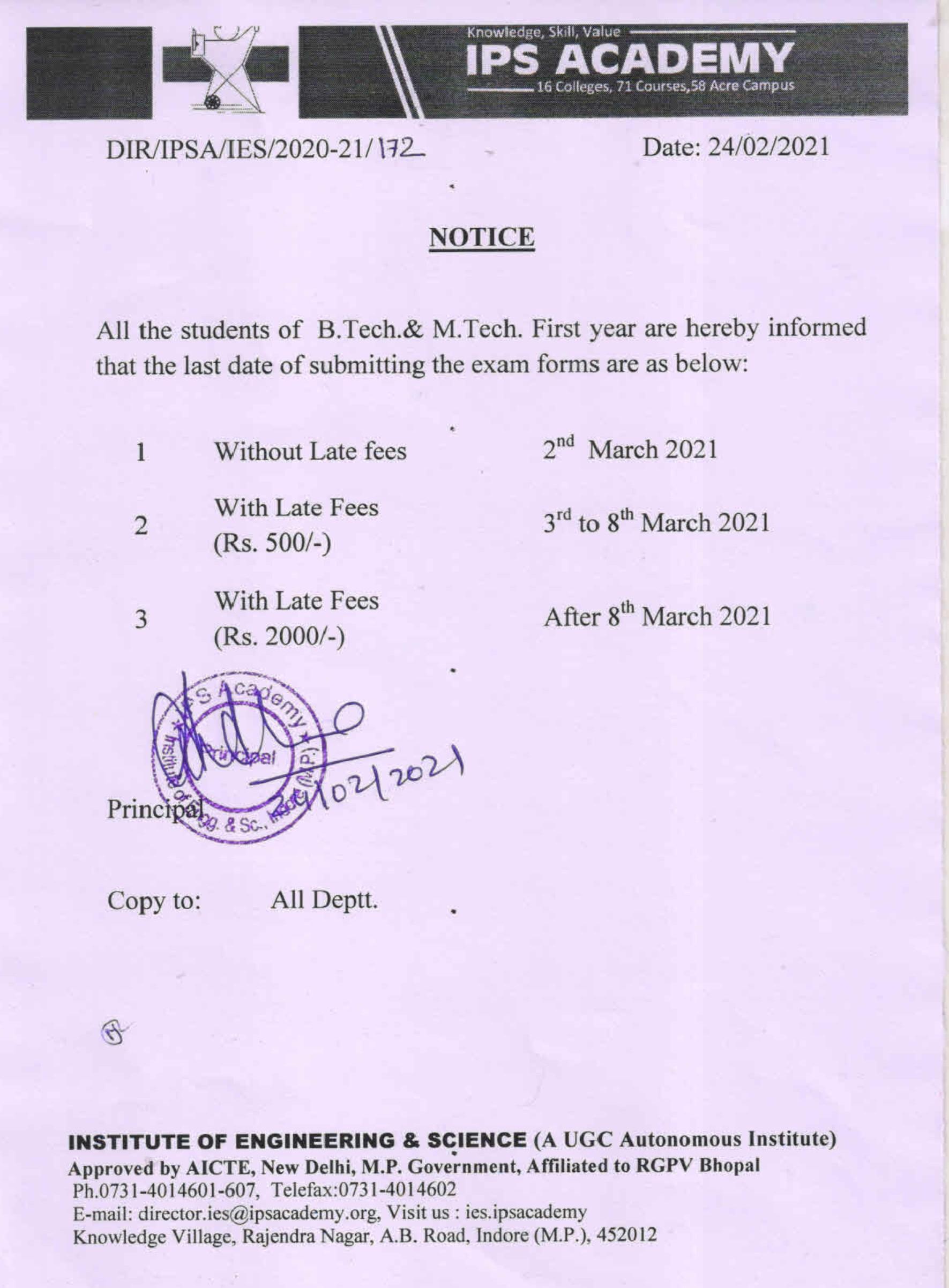 1ST YEAR EXAM NOTICE 24 Feb 2021_001