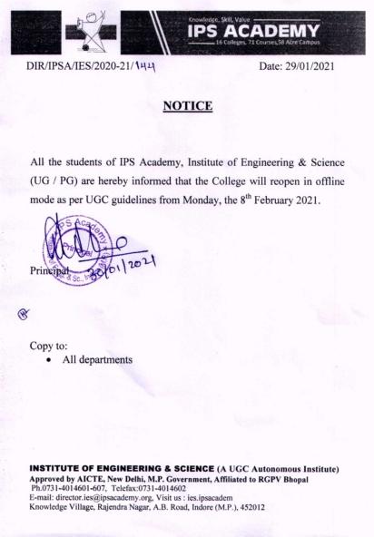 Notice Regarding Reopen Colleges_001