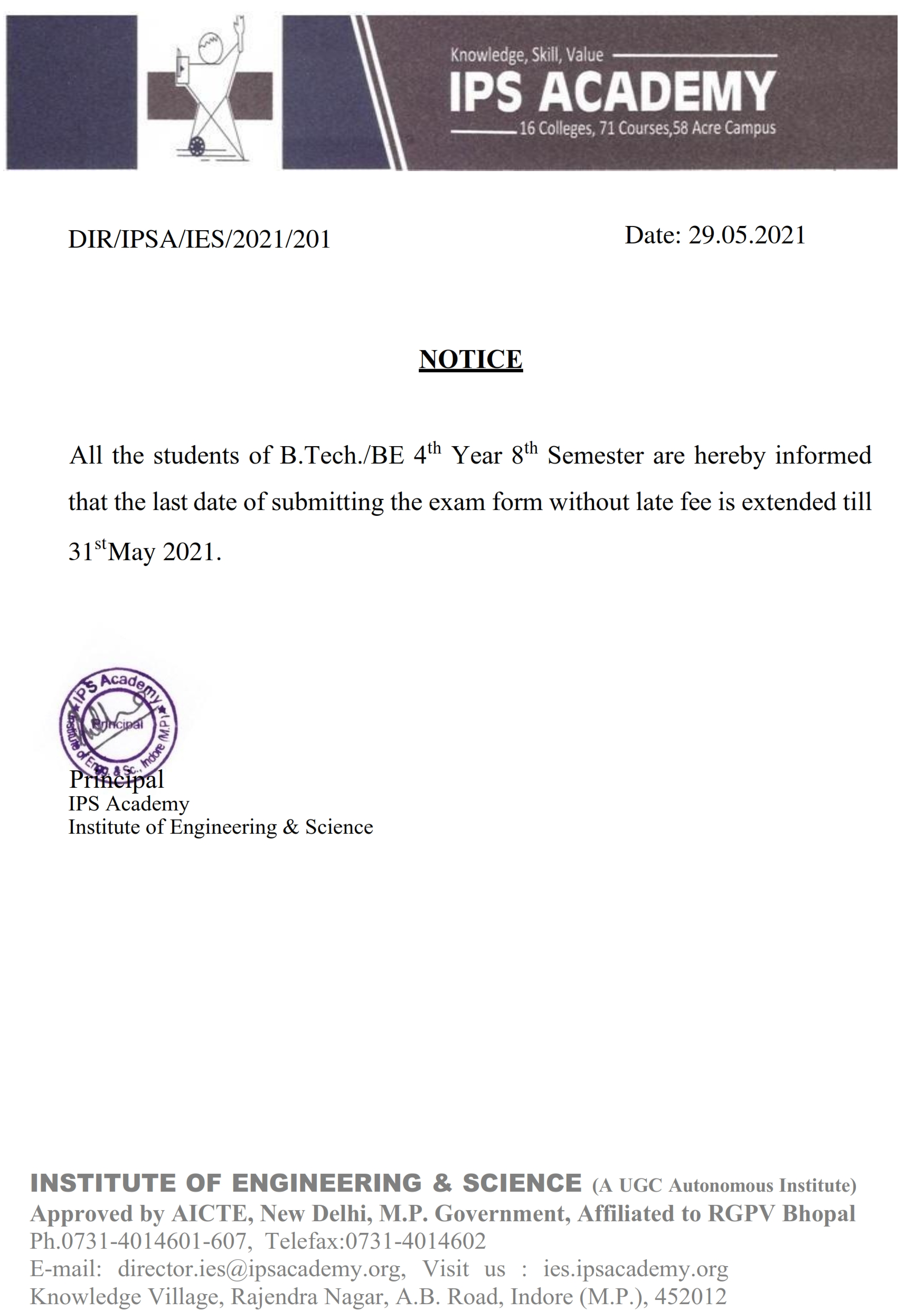 Notice for date extended 29.05.2021_001
